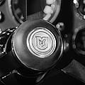 1964 Aston Martin Steering Wheel Emblem by Jill Reger