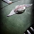 1964 Morgan 44 Hood Emblem by Jill Reger