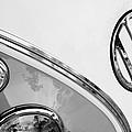 1964 Volkswagen Samba 21 Window Bus Vw Emblem by Jill Reger