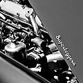 1965 Aston Martin Db5 Coupe Rhd Engine by Jill Reger