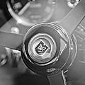 1965 Aston Martin Db5 Coupe Rhd Steering Wheel by Jill Reger