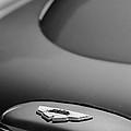 1965 Aston Martin Db5 Sports Saloon Emblem by Jill Reger