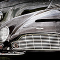 1965 Aston Martin Db6 Short Chassis Volante Grille by Jill Reger