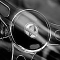 1965 Ford Mustang Cobra Emblem Steering Wheel by Jill Reger