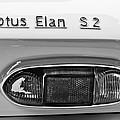 1965 Lotus Elan S2 Taillight Emblem by Jill Reger