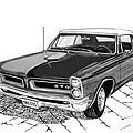 1965 Pontiac G T O Convertible by Jack Pumphrey
