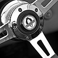 1965 Shelby Cobra 427 Steering Wheel Emblem by Jill Reger