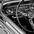 1965 Shelby Prototype Ford Mustang Steering Wheel by Jill Reger