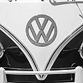 1966 Volkswagen Vw 21 Window Microbus Emblem by Jill Reger