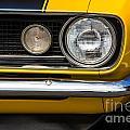 1967 Camaro Headlight by Jerry Fornarotto