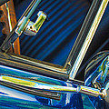 1967 Chevrolet Camaro Ss 350 Rear View Mirror Emblem by Jill Reger