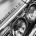 1967 Chevrolet Chevelle Malibu Head Light Emblem by Jill Reger