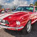 1967 Ford Shelby Mustang Gt500 Painted  by Rich Franco