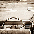 1967 Lincoln Continental Steering Wheel by Jill Reger