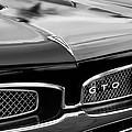 1967 Pontiac Gto Grille Emblem by Jill Reger