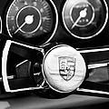 1967 Porsche 911 Coupe Steering Wheel Emblem by Jill Reger