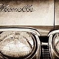 1968 Chevrolet Chevelle Hood Emblem by Jill Reger