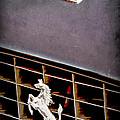 1968 Ferrari 365 Gtc Hood Emblem - Grille Emblem by Jill Reger