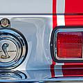 1968 Ford Mustang Fastback 427 Ci - Cobra Emblem by Jill Reger
