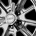 1968 Ford Mustang Fastback 427 Shelby Cobra Wheel by Jill Reger