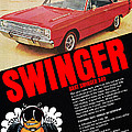 1969 Dodge Dart Swinger 340 by Digital Repro Depot