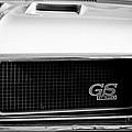 1970 Buick Gs Grille Emblem by Jill Reger