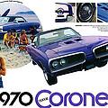 1970 Dodge Coronet Super Bee by Digital Repro Depot