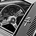 1971 Iso Grifo Can Am Steering Wheel Emblem by Jill Reger