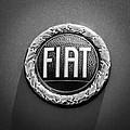 1972 Fiat Dino Spider Emblem by Jill Reger