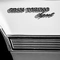 1972 Ford Gran Torino Sport Emblem by Jill Reger