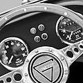 1972 Ginetta Steering Wheel Emblem by Jill Reger
