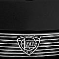 1972 Lancia Fulvia 1.3s S2 Grille Emblem by Jill Reger
