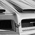 1974 Pontiac Firebird Grille Emblem by Jill Reger
