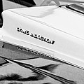 1980 Chevrolet Malibu Ss Cowl Induction Hood Emblem by Jill Reger