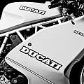 1993 Ducati 900 Superlight Motorcycle by Jill Reger