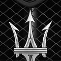 2005 Maserati Gt Coupe Corsa Emblem by Jill Reger