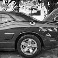 2010 Plymouth Superbird Bw  by Rich Franco