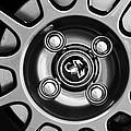 2013 Fiat Abarth Wheel Emblem by Jill Reger