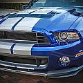 2013 Ford Mustang Shelby Gt 500  by Rich Franco