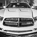 2014 Dodge Charger Rt Painted Bw by Rich Franco