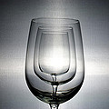 3 Wine Glasses by Scott Angus