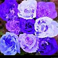A Bouquet For You Blue by Holley Jacobs