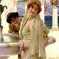 A Difference Of Opinion by Sir Lawrence Alma Tadema