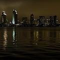 A Foggy Night In San Diego by Chuck De La Rosa