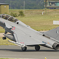A French Air Force Rafale Jet by Giovanni Colla