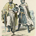 A Grand Master Of The Teutonic  Knights by Mary Evans Picture Library