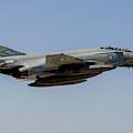 A Hellenic Air Force F-4e Phantom by Timm Ziegenthaler