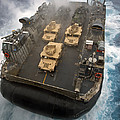 A Landing Craft Air Cushion Exits by Stocktrek Images
