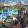 A Man And His Dogs by Gail Daley