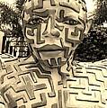 1 A Maze Ing Man Sepia by Rob Hans